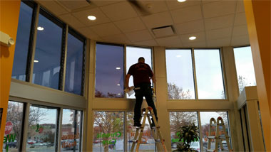 Residential Window Tinting or Glass windows near you